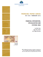 Financial integration, Specialization and Systemic risk