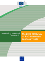 The 2012 EU Survey on R&D Investment Business Trends