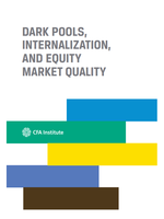 Dark Pools, Internalization, and Equity Market Quality