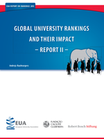 Global university rankings and their impact report - Rapport II
