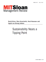 Sustainability Nears a Tipping Point